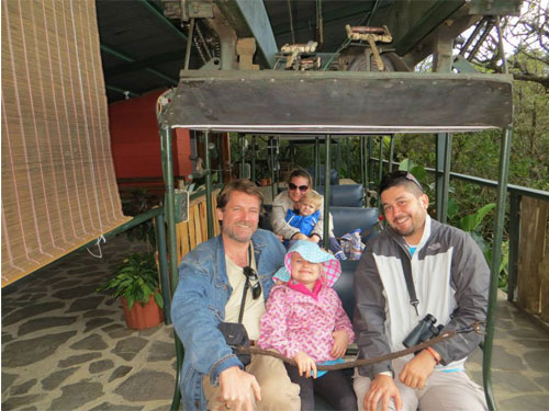 Costa Rica with kids tour